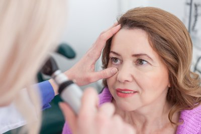 Glaucoma testing at Gerstein Eye Institute